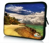 Sleevy 10 laptop/tablet hoes strand design - tabletsleeve - tablet sleeve - ipad sleeve