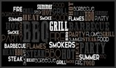 bbq mat bbq party 67 x 120 cm