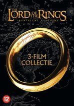 DVD cover van Lord Of The Rings Trilogy