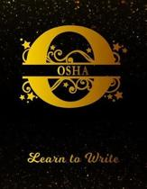 Osha Learn To Write