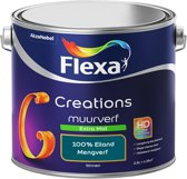 Flexa Creations - Muurverf Extra Mat - 100% Eiland - Mengkleuren Collectie- 2,5 Liter