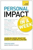 Personal Impact at Work in a Week