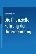 Die Finanzielle F hrung Der Unternehmung