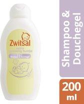 Zwitsal Extra Gevoelig Huidje Shampoo & Wasgel Baby 200 ML