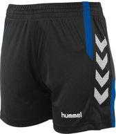 Hummel Aarhus Sportbroek - Maat S  - Vrouwen - Zwart/blauw/wit
