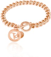 TOV Essentials - Ini mini solochain bracelet - Armband - Subtiele schakel - Rosé