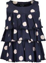 Blue Seven Meisjes Topje - donkerblauw - Maat 116