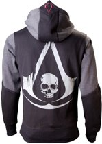 Assassin's Creed Black Flag - Character Hoodie - L (Black / Grey)