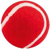 Rode tennisbal