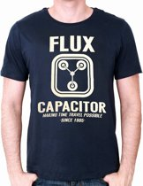 BACK TO THE FUTURE - T-Shirt Flux Capacitor (S)