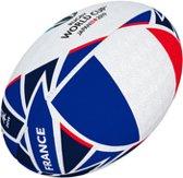 Gilbert Rugbybal Rugby World Cup vlag Frankrjk Mini
