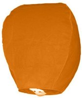 Wensballon oranje 1 stuks