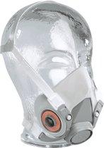 3M 6200 halfgelaatsmasker maat M (grijs) maat M