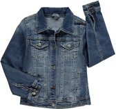Losan Meisjes Zomerjas /Jack Jeans blauw met studs - T90- Maat  128