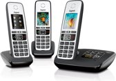 Gigaset A670A - Trio DECT telefoon - Antwoordapparaat - Zilver/Zwart