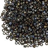 Miyuki Delica (11/0 mm) Metallic Black Luster (10 Gram)