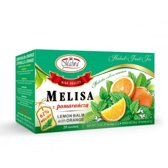 Citroenmelisse thee met oranje 20 x 2g