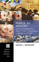 Prayer as Memory