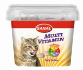 Sanal Multi Vitamin Cat Treats - Kattensnack - 100 g
