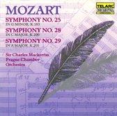 Mozart: Symphonies 25, 28 & 29 / Mackerras, Prague CO