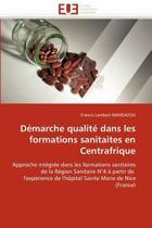 D�marche Qualit� Dans Les Formations Sanitaites En Centrafrique