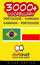3000+ Portuguese - Kannada Kannada - Portuguese Vocabulary