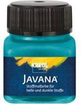 Javana turquoise textielverf 20ml – Voor licht en donker gekleurd textiel
