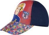 Brandweerman-Sam-Honkbal-pet-marineblauw - Maat 52