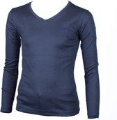 Piva schooluniform t-shirt lange mouwen  meisjes - donkerblauw - maat XL/42