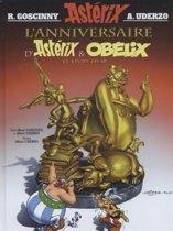Boek cover LAnniversaire dAstérix et Obélix - Le Livre dor van Rene Goscinny (Hardcover)
