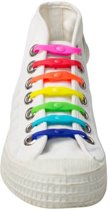 Shoeps Elastische Veters 14 stuks mix color