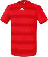 Erima Santos - Voetbalshirt - Kinderen - Maat 128 - Rood