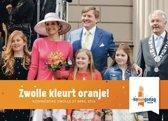 Zwolle kleurt oranje