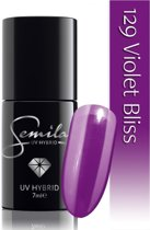129 UV Hybrid Semilac Violet Bliss 7 ml.