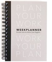 A5 Planner Plan your Work + GRATIS blocknote + kaart