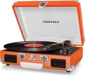Crosley Cruiser Deluxe Platenspeler Oranje Met Bluetooth