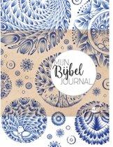 Mijn Bijbel Journal – Blauw + 15 Bujo Stencils + 1 Bujo Liniaal