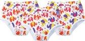 Wasbare oefenbroek luierbroek trainingsbroek Voordeelpakket Olifant 18 tot 24 mnd