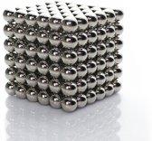 ProMagnet  Zilveren Magneetballetjes - 216 stuks - 5mm grootte - Buckyballs - Klein speelgoed - Anti-stress speelgoed - Creatief speelgoed - Knutselen - Magnetisch speelgoed - Neocube - Magneetjes - Magnetische balletjes