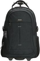 Enrico Benetti Sydney Backpack Trolley 17 inch black