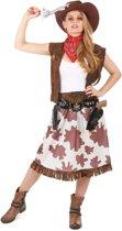 Bruin Far West cowgirl kostuum voor vrouwen - Volwassenen kostuums