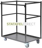 Trolley klein voor transport StaTafels (Statafels niet inbegrepen)