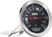GEFU Diepvries- en koelkastthermometer - RVS - Zwart