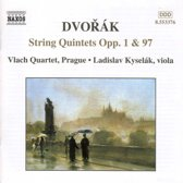 Dvorak: String Quintets Opp. 1 & 97 / Vlach Quartet et al