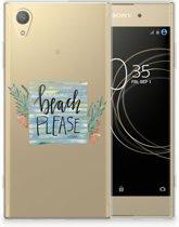 Sony Xperia XA1 Plus Uniek TPU Hoesje Boho Beach