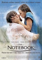 DVD cover van The Notebook