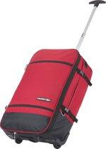 CarryOn Daily Trolley Rugzak 55cm en 44 liter - Wieltas Backpack - Rood