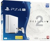 Sony PlayStation 4 Pro 1TB Console - Wit + Destiny 2 - Digital Deluxe Edition + Voucher That's You!