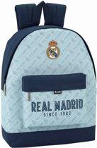 Real Madrid Rugzak - 43 cm - Blauw