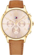 Tommy Hilfiger TH1781875 Watches - Leer - Bruin - 38 mm